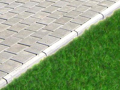 Бордюрный камень садовый фото опоры лэп бу железобетонные